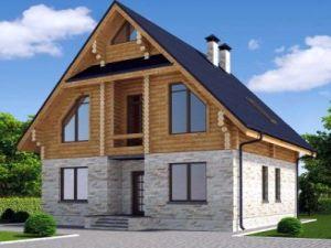 Строительство домов под ключ в Перми - Дома из бруса